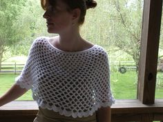 Ravelry: Lavish Crocheted Capelet pattern by Judy Croucher