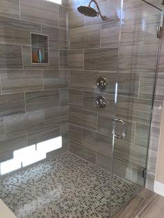 Creative And Beautiful Modern Shower Design Ideas Modern Shower, Modern Bathroom, Master Bathroom, 50s Bathroom, Mermaid Bathroom, Funny Bathroom, White Bathroom, Bathroom Wall, Bathroom Design Small