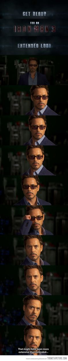 Iron Man 3 extended look... This is great
