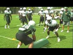 We must tackle well and break tackles. During our day in pads we went to work on doing both. Youth Football Drills, Football Defense, Tackle Football, Football Videos, Football Workouts, Football Gif, Flag Football, Football Stuff, Football Season