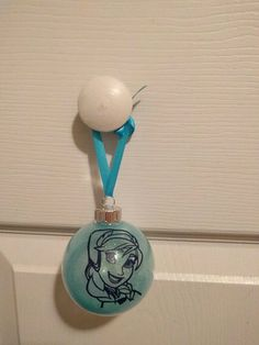 Anna Christmas Ornament by ColoCustomCreations on Etsy