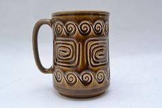 Mid century vintage 'Totem' design mug by Sylvac | eBay