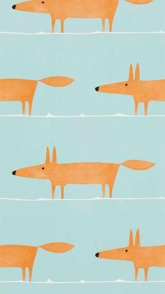 Midbec Wabi Sabi, tapetkollektion med räven Mr Fox
