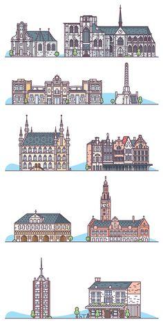 Mini-Leuven/Mini-Louvain on Behance
