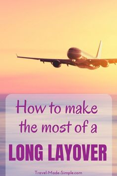 Sometimes a long layover is long enough to leave the airport and get a glimpse of the city. Here's how to maximize a long layover and what to consider. #traveltips #travelhacks #layover