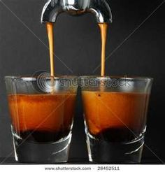 Ahhhhh....the perfect shot of espresso.
