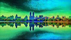 #Regram post to @pinterest Landscape of Central Park looking like a big sinusoidal wave    #nature #sky #sun #beautiful #pretty #sunset #sunrise #blue  #tree  #clouds #beauty #light #photooftheday #skylovers #day #skypainters #pachamama #mothernature #nyc #newyork #psychedelic by beijkaterson - #ViralInNature is named by Clutch.co as Canadas Top Social Media Marketing Agency http://vnat.ca/TopSocialMediaAgencyCanada2016 Visit us at http://bit.ly/1seeN6z