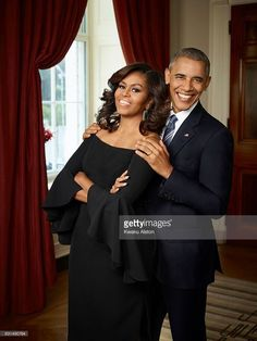The Obama's The President and First Lady of the United States of America Barack Obama, Michelle Obama are photographed for Essence Magazine on July 2016 in Washington, DC.
