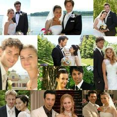 """Wunderschöne Hochzeitsfotos aus zehn Jahren """"Sturm der Liebe"""" ❤❤"""