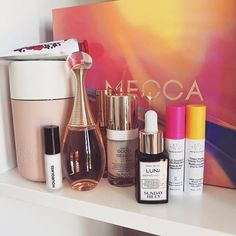 All I want (and got) for Christmas is skincare (and a bit of perfume). Sunday Riley, Beauty Book, Christmas Presents, Skincare, Perfume, Lipstick, Layout, Kids, Instagram