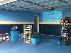 SD Chargers man cave