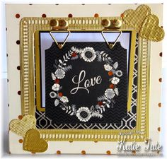 This a very interesting card, it has its own easel. Checkout the tutorial! More Than One, How To Show Love, Thing 1 Thing 2, Easel, 3 D, Greeting Cards, Challenges, Elegant, Frame