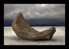 Great Salt Flats, Great Salt Lake, Utah.