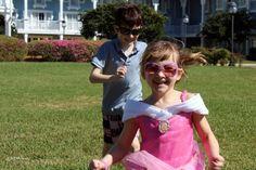 A Princess playing tag at the Beach Club #BeachClub #BeachClubResort #DisneyWorld