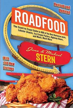 Find local food by bringing Roadfood, or using its website.