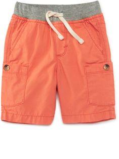 Toddler boy clothes from Old Navy are simply the cutest. Toddler Boy Outfits, Toddler Boys, Kids Outfits, Kids Pants, Kids Shorts, African Men Fashion, Boy Fashion, Como Fazer Short, Short Niña