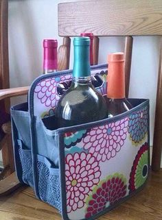 Headed to a party? Bring your own 4-pack to the party with a Double Duty Caddy from Thirty-One! www.mythirtyone.com/pjkenney