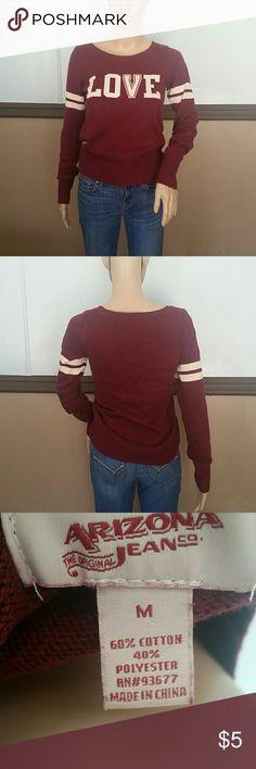Sweater Sweater burgundy arizona Sweaters