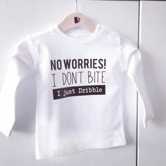 Babyshirt 'Dribble' #suededesign