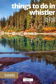 From mountain hiking to thriling ziplines, enjoying autumn in Whistler is an ideal escape. Check out our 7 favorite things to do in Whistler during fall. #whistler #fall #explorebc #whistlerinfall #whistlerbc Best Family Vacations, Family Travel, Dream Vacations, Alberta Canada, Solo Travel, Travel Tips, Travel Ideas, Vancouver Travel, Canada Destinations