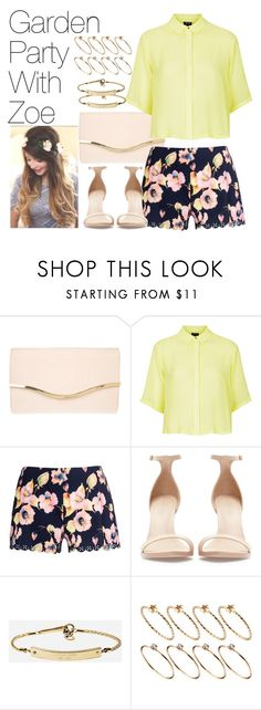 """Garden Party with Zoe"" by onedirectionimagineoutfits99 ❤ liked on Polyvore featuring Dorothy Perkins, Topshop, Quiz, Zara, MICHAEL Michael Kors and ASOS"