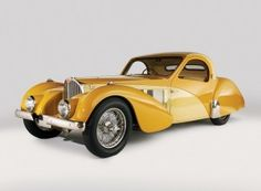 1937 Bugatti Type 57SC Atalante Coupe.  Sale Price/Date/Location: This first production 1937 Bugatti Type 57SC Atalante Coupe sold for $7,920,000 on August 17, 2008 in Pebble Beach, CA    The Bugatti Type 57SC Atalante is one of the rarest collectible cars in existence.        Sale Price/Date/Location: This first production 1937 Bugatti Type 57SC Atalante Coupe sold for $7,920,000 on August 17, 2008 in Pebble Beach, CA.