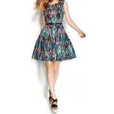 c4430dab3a Calvin Klein Calvin Klein Pink Printed Women s Size 12P Petite Pleated  Dress Petite Dresses