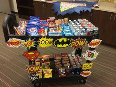 Snack Cart, and each sign was a jean pass to use whenever they wanted Teacher Lunches, Teacher Treats, Teacher Gifts, Teacher Cart, Parent Gifts, Teacher Morale, Staff Morale, Employee Appreciation Gifts, Teacher Appreciation Week
