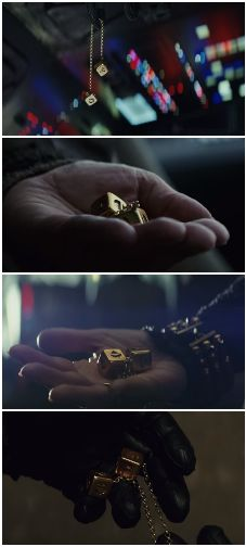 Han's Dice from the Falcon <<< this scene had me crying...