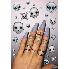 In search for some nail designs and ideas for your nails? Here is our list of 28 must-try coffin acrylic nails for fashionable women. Gorgeous Nails, Love Nails, How To Do Nails, Fun Nails, Pretty Nails, Perfect Nails, Cute Acrylic Nails, Acrylic Nail Designs, Nail Art Designs