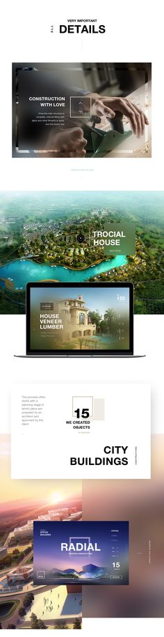 Modern property concept design