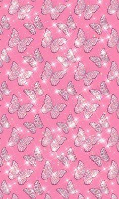Baddie Aesthetic Wallpaper Pink / Pink Purple Baddie Pink Glitter Wallpaper, Butterfly Wallpaper Iphone, Iphone Background Wallpaper, Iphone Wallpaper Tumblr Aesthetic, Aesthetic Wallpapers, Hippie Wallpaper, Collage, Cute Patterns Wallpaper, Pretty Wallpapers