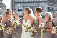 Photography: Becky Hill Photography - beckyhillweddings.com Floral Design: Celidan Creations, Inc. - celidanflorist.com  Read More: http://www.stylemepretty.com/2012/12/31/chicago-wedding-from-becky-hill-photography/