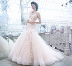 Blush Bridal Gowns | Weddings Illustrated