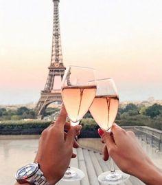 Cheers- Eiffel Tower in Paris, France- Summer in Paris- Wine Glasses Torre Eiffel Paris, Tour Eiffel, Paris Eiffel Tower, Paris Travel, France Travel, France Europe, Paris Amor, Places To Travel, Places To Visit