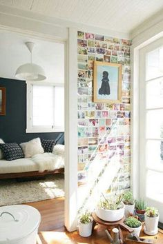 Wall of pictures! So nice!
