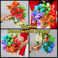 how to make tissue paper flowers bouquet for wedding day