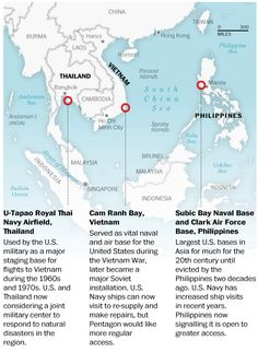U.S. military expansion in Southeast Asia.