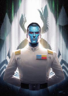 Grand Admiral Thrawn • by Darren Tan