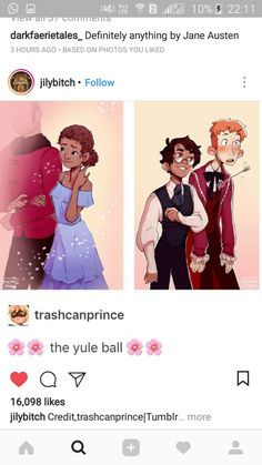Yule Ball fan art