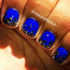 24 best blue nails images  blue nails nails nail art