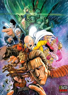 Tags: Dissidia, Genos, One Punch-Man, Saitama, Jigoku no Fubuki, Zombie-man…