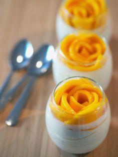 A Baked Creation: No-Bake Mini Cheesecake Blossoms