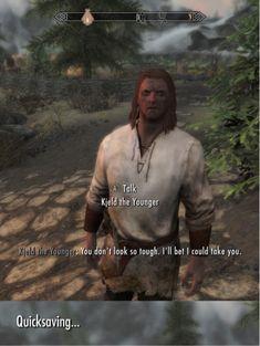 When an NPC starts talking shit..