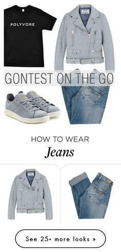 """""""782. #ContestOnTheGo #ContestEntry"""" by zaandupreez on Polyvore featuring Pepe Jeans London, adidas Originals, Acne Studios, contestentry and ContestOnTheGo"""