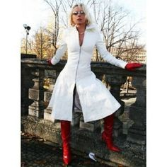 Genuine Leather Dress, Handmade Lambskin Leather Dress, Plus Size Custom Made Red Leather Dress, Long Leather Coat, Lambskin Leather Jacket, Leather Dresses, Plus Size Dresses, New Dress, Fall Outfits, Red Gloves, Clothes For Women