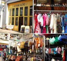 """Beyond Retro. """"Originally from Stockholm, Beyond Retro is now one of England's most loved vintage chains, with several stores around London and one in Brighton. Expect fun, reasonably priced vintage spanning from the '40s to the '90s."""