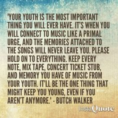 Butch Walker..just read his book and this is at the end of it. Man, he's just awesome!