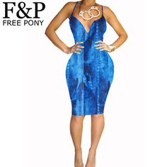 Women summer denim dress bandage dress for women Summer Dress Bodycon Dresses Clothes