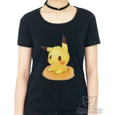 S-3XL Kawaii Pikachu Unisex Tee Shirt SP167906